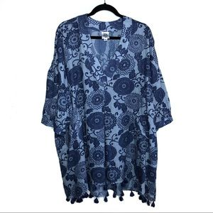 Ivy Jane | Women's Floral Print Lightweight Tunic